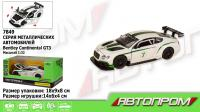 Машина метал. 7849 68353 48шт2 АВТОПРОМ,1:32 Bentley  Continental GT3 свет,звук,в коробке 18